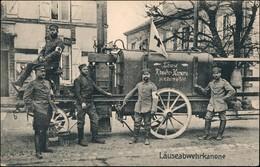 Ansichtskarte  Militaria WK1 - Läuse Abwehrkanone 1918 - Guerre 1914-18