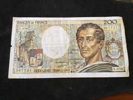200 Francs 1988 N058 - 1962-1997 ''Francs''