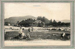 CPA - CORNIMONT (88)  Aspect Des Grumes De Sapin En Attente De Chargement Sur Le Quai De La Gare - 1910 - Ad. Weick - Cornimont