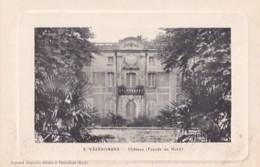 VEZENOBRES          CHATEAU . FACADE NORD - France