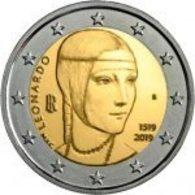 Itália   2 Euro Cc - Leornado Da Vinci - 2019 UNC - Italy