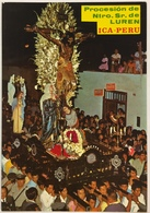 (780) Peru - Ica - Our Lord Of Luren Procession - Pérou