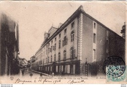 BERGERAC HOTEL DE VILLE LA RUE NEUVE 1904 PRECURSEUR TBE - Bergerac