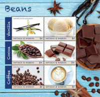 Antigua And Barbuda 2019 Beans ,ice Cream, Chocolate I201901 - Antigua And Barbuda (1981-...)