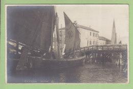 VENEZIA : Chioggia . Carte Photo. TBE. Dos Simple. 2 Scans. Edition Photo Sciutto - Venezia (Venice)