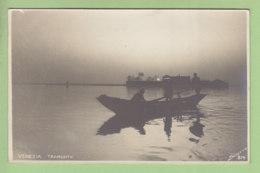 VENEZIA :  Tramonto . Carte Photo. TBE. Dos Simple. 2 Scans. Edition Photo Sciutto - Venezia (Venice)