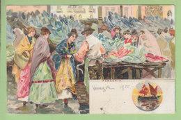 VENEZIA :  Pescaria Par Raffaele TAFURI . Illustrateur. Dos Simple. 2 Scans. Edition Armanino - Venezia (Venice)