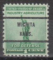 USA Precancel Vorausentwertung Preo, Bureau Kansas, Wichita 899-71 - Vereinigte Staaten