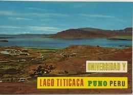 (784) Peru - Puno - Panoramic View Of Lago Titicaca And University - Pérou