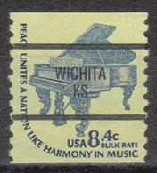 USA Precancel Vorausentwertung Preo, Bureau Kansas, Wichita 1615C-87 - Vereinigte Staaten