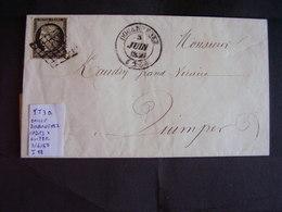 France. Marcophilie. II Répubblique/Empire Non Dentelés. Prestigieuse Collection. Description. 61 Photos - Marcophilie (Lettres)