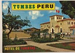 (785) Peru - Tumbes - Hotel De Turistas - Plaza Bolognesi - Pérou