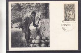 France - A.O.F.- Senegal - Carte Postale De 1952 - Oblit Dakar Philatélie - Exp Vers Epinay Sur Seine - Carte Maximum ? - A.O.F. (1934-1959)