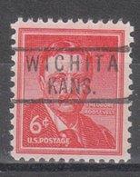USA Precancel Vorausentwertung Preo, Locals Kansas, Wichita 818 - Vereinigte Staaten