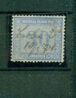Deutsches Reich, Wertziffer Im Quadrat, Nr. 13 Federzugentwertung - Oblitérés