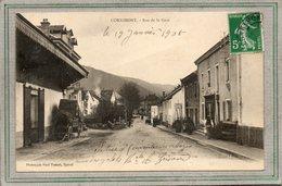CPA - CORNIMONT (88)  Aspect De La Rue De La Gare En 1905 - Paul Testart - Précurseur - Cornimont