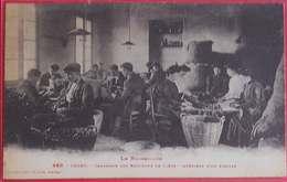 66 Ceret Fabrique Industrie Des Bouchons De Liège Interieur D'un Atelier Joli Plan éditeur Labouche N°499 Dos Scanné - Ceret