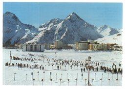 REF 405 : CPSM 38 Les 2 Alpes L'école De Ski - Francia