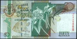 SEYCHELLES - 50 Rupees Nd.(2005) {sing. Francis Chang Leng} UNC P.39 A - Seychelles