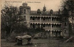 16 - Environs De BARBEZIEUX - Le Château De Montauzier - Frankreich