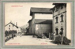 CPA - CORNIMONT (88)  Aspect D'un Quartier Du Bourg Au Début Du Siècle - Cornimont