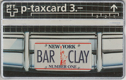 SUISSE - PHONE CARD - TAXCARD-PRIVÉE *** BARCLAY / 1 *** - Schweiz
