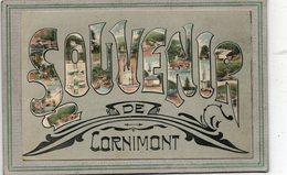CPA - CORNIMONT (88)  Carte Multivues De 1907 - Souvenir De ... - Cornimont