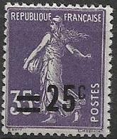 N°218 Neuf ** 1926-27 - France