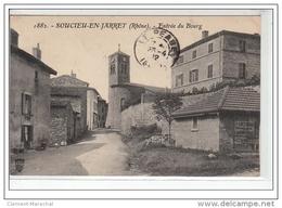 SOUCIEU EN JARRET - Entrée Du Bourg - Très Bon état - France