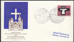 BRD Bund 1959 Mi.313 Heiliger Rock Trier Auf FDC   (23507 - [7] Repubblica Federale