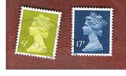 GRAN BRETAGNA (UNITED KINGDOM) -  SG X936.1008  -  1991 QUEEN ELIZABETH II    - USED° - Usati