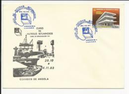 Cover Angola Curso De Materiais Betuminosos Luanda 1983 - Angola