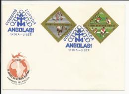 Cover FDC Angola II Jogos Da África Central Luanda 1981 - Angola