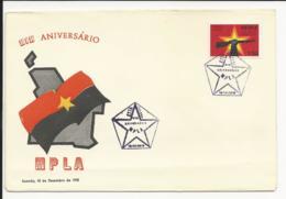 Cover Angola XIX Aniversário MPLA Luanda 1975 - Angola