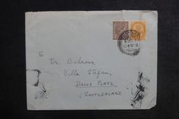 INDE - Enveloppe Pour La Suisse En 1937, Affranchissement Plaisant - L 38824 - Inde (...-1947)