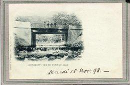 CPA - CORNIMONT (88)  Aspect Du Pont Du Sage Sur Le Ruisseau Du Ventron, En 1898 - Précurseur - Cornimont