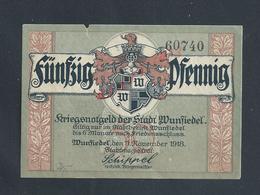 MILITARIA ALLEMAGNE BILLET DE BANQUE DE 1918 PENDANT GUERRE : - [ 2] 1871-1918 : Impero Tedesco