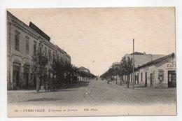 - CPA FERRYVILLE (Tunisie) - L'Avenue De France - Photo Neurdein 198 - - Tunisie