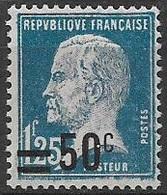 N°222 Neuf ** 1926-27 - Frankreich