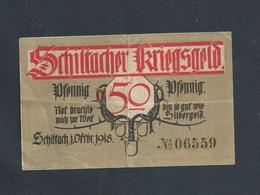 MILITARIA ALLEMAGNE BILLET DE BANQUE DE 1918 PENDANT GUERRE : - Altri