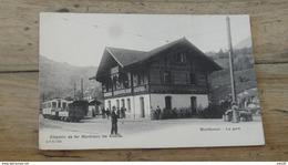 SUISSE : MONTBOVON : La Gare .................. MU-3085 - FR Fribourg
