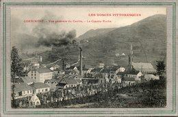 CPA - CORNIMONT (88)  Vue Du Entre, Du Cimetière Et De L'Usine Au Début Du Siècle - Cornimont