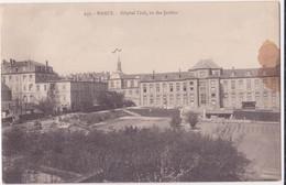 CPA -237. NANCY - Hôpital Civil Vu Des Jardins - Nancy