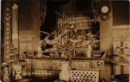 Penang Real Photo Postcard Snake Temple (a1413) - Malaysia