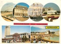 76 - Le Havre - Multivues - Bateaux - Voilier - Automobiles - Voir Scans Recto-Verso - Le Havre