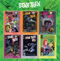 Gambia 2019 STAR TREK COMICS I201901 - Gambia (1965-...)