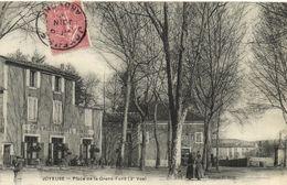 CPA JOYEUSE - Place De La Grand-Fond (142871) - Joyeuse