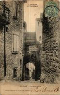 CPA JOYEUSE Une Veille Rue (398747) - Joyeuse