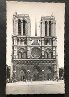 Paris Cathedrale Notre-Dame Facade - Notre Dame De Paris