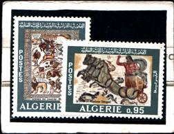 6558B) ALGERIA 1968 Mosaici Romani 2v  MNH** - Algeria (1962-...)